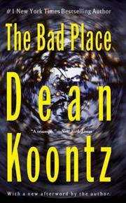 The bad place by Dean Ray Koontz