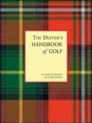 Cover of: The Duffer's Handbook of Golf