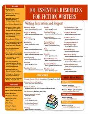 Cover of: 101 Essential Resources for Fiction Writers