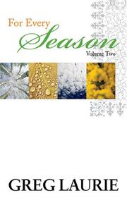 Cover of: For Every Season II | Greg Laurie
