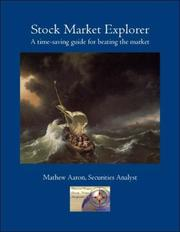 Cover of: Stock Market Explorer | Mathew Aaron