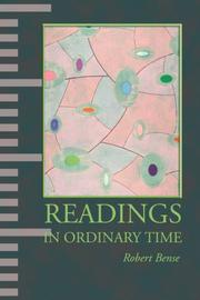 Cover of: Readings in Ordinary Time | Robert Bense