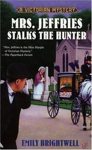 Cover of: Mrs. Jeffries stalks the hunter