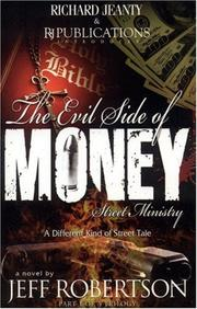 Evil Side Of Money (Street Ministry) by Robertson Jeff