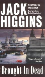 Cover of: Brought In Dead | Jack Higgins