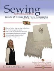 Sewing for the Romantic Home by Kandi L. Christian