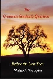Cover of: The Graduate Student