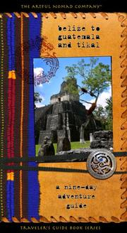 Belize to Guatemala and Tikal