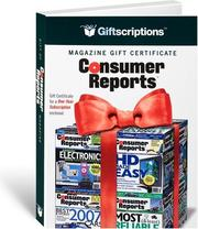 Cover of: Giftscriptions Magazine Gift Certificate | Magazine Retail Enterprises Inc.
