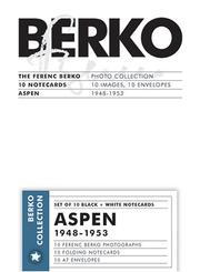 Cover of: Aspen Notecards | Ferenc Berko