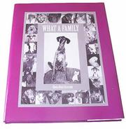 Cover of: What a Family | Gloria Hussl Krassnig