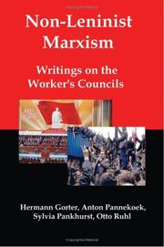 Cover of: Non-Leninist Marxism | Herman Gorter