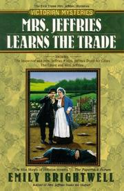 Cover of: Mrs. Jeffries learns the trade