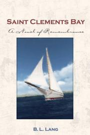 Cover of: Saint Clements Bay | B. L. Lang