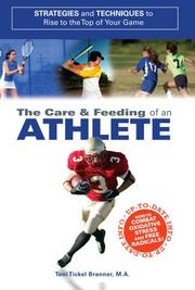 Cover of: Care and Feeding of an Athlete