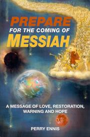 Cover of: Prepare for the Coming of Messiah