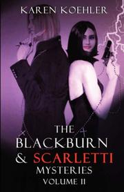 Cover of: The Blackburn & Scarletti Mysteries Volume II