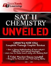 Cover of: SAT II Chemistry | Randy Liang