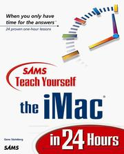 Cover of: Teach Yourself the iMac in 24 Hours