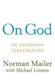 Cover of: On God: an uncommon conversation