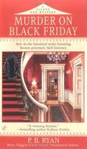 Cover of: Murder on Black Friday | P. B. Ryan