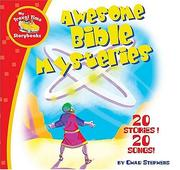 Cover of: Awesome Bible Mysteries | Chad Stephens