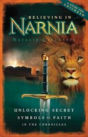 Cover of: Believing in Narnia | Natalie Nichols Gillespie