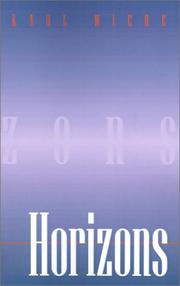 Cover of: Horizons | Karl Wiebe