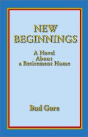 Cover of: New Beginnings | Bud Gore