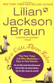 Cover of: Two cats, three tales