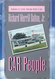Cover of: Car People
