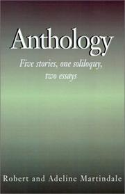 Cover of: Anthology | Robert Martindale