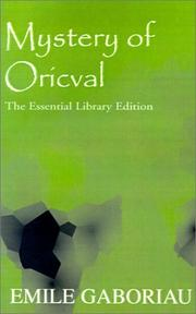 Cover of: Mystery of Oricval (Essential Library)