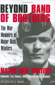 Cover of: Beyond Band of Brothers | Dick Winters