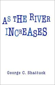 Cover of: As the River Increases
