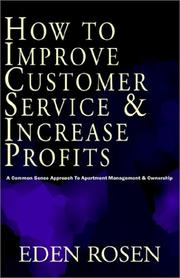 Cover of: How to Improve a Common Sense Approach
