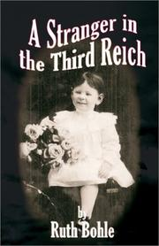 Cover of: A Stranger in the Third Reich