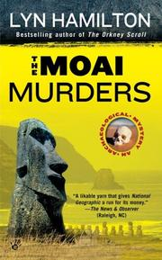 Cover of: The Moai Murders (Archaeological Mysteries)