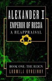 Cover of: Alexander the First, a Reappraisal