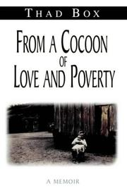 Cover of: From a Cocoon of Love and Poverty