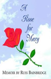 Cover of: A Rose for Mary
