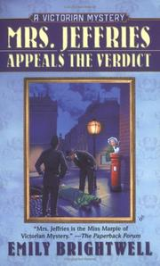 Cover of: Mrs. Jeffries Appeals the Verdict