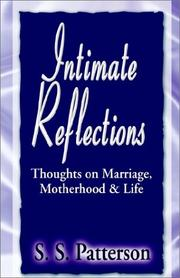 Cover of: Intimate Reflections | S. S. Patterson