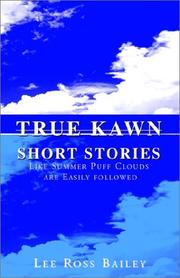 Cover of: True Kawn Short Stories
