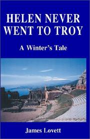 Cover of: Helen Never Went to Troy