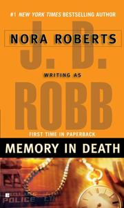 Cover of: Memory in Death (In Death)