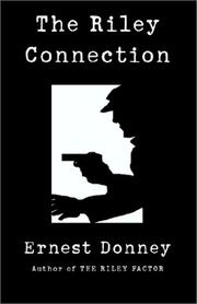Cover of: The Riley Connection | Ernest Donney