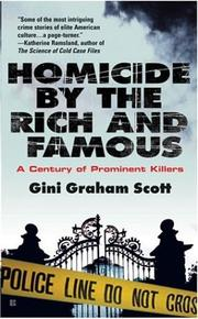 Cover of: Homicide By The Rich and Famous | Gini Graham Scott