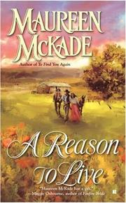 Cover of: A Reason to Live