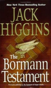 Cover of: The Bormann Testament